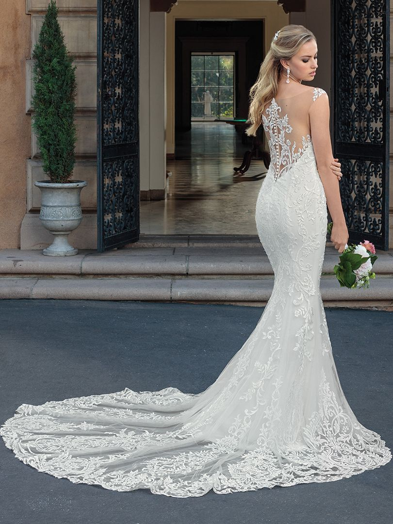 Lace dress roblox  Casablanca Bridal Style  Kinsley  Wedding Gowns With Illusion