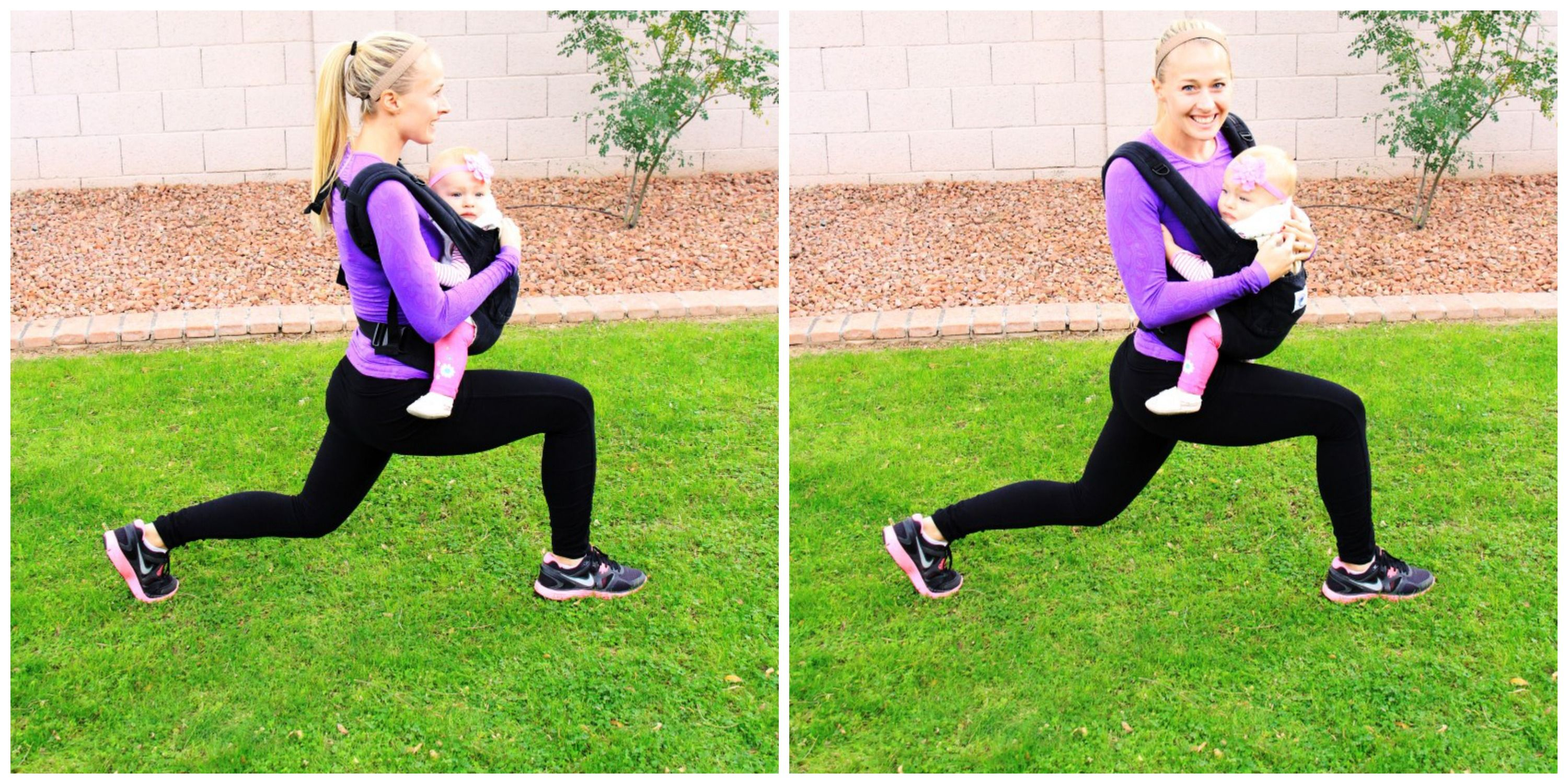 A babywearing workout for new moms! Tackle your Trouble Spots: Tummy Ergobaby Blog www.MyTailoredFitness.com