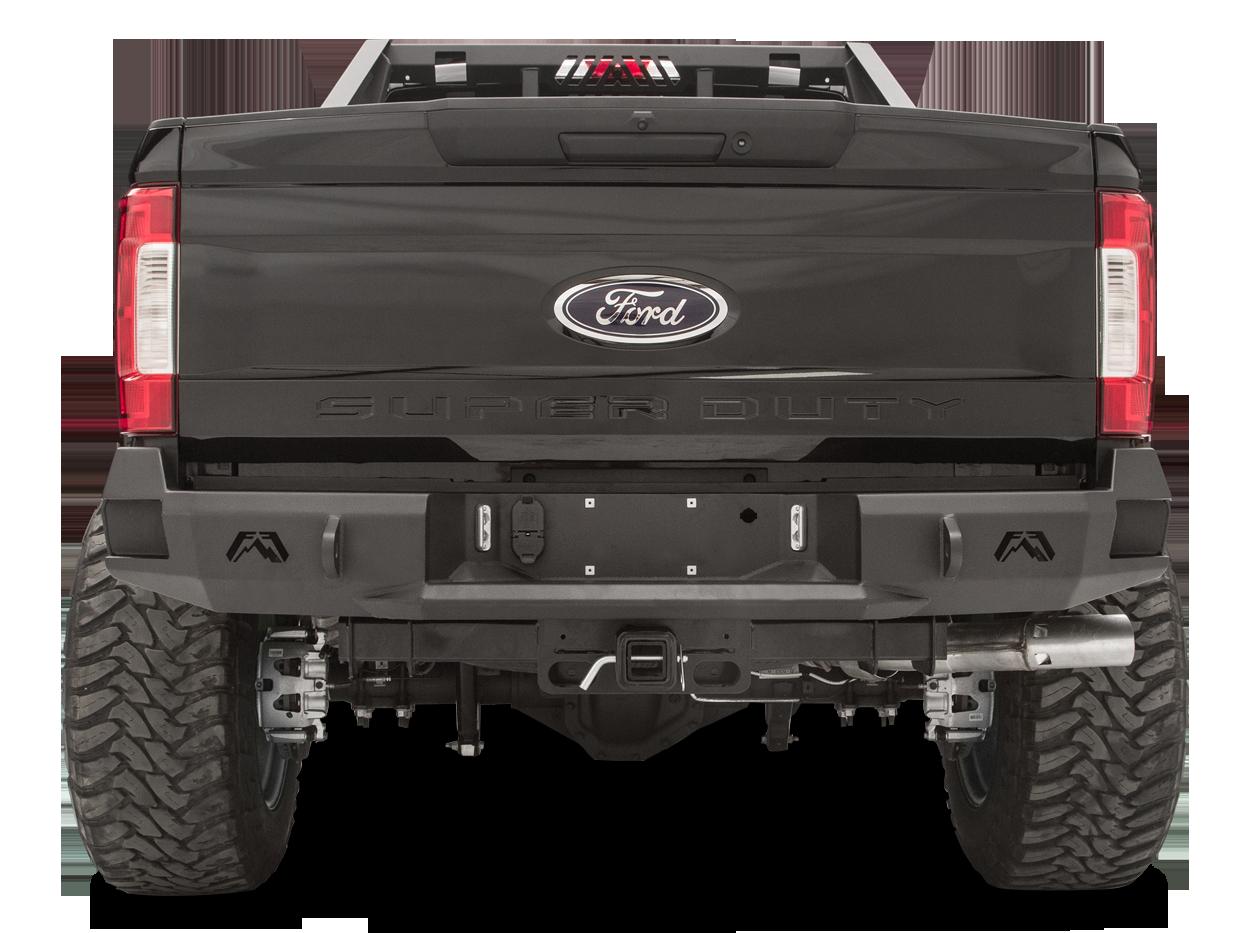 Fab Fours Premium Rear Bumper Truck Fitment 1999 2016 7 3l 6 0l
