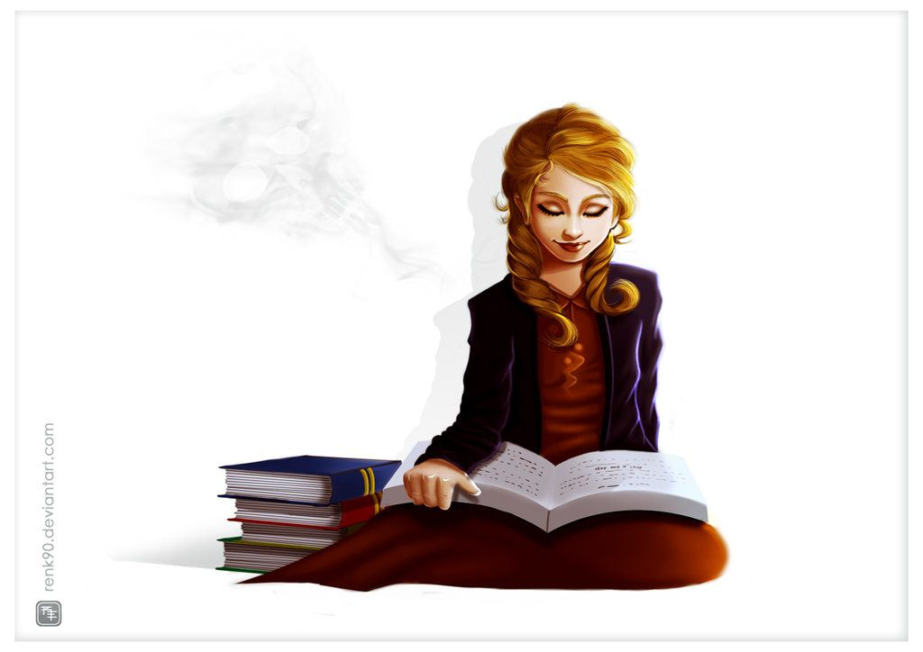 The book thief by RenanMoraes.deviantart.com on @DeviantArt | Die ...