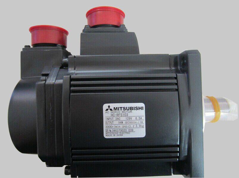1pcs new hcrfs103 mitsubishi ac servo motor input 3ac