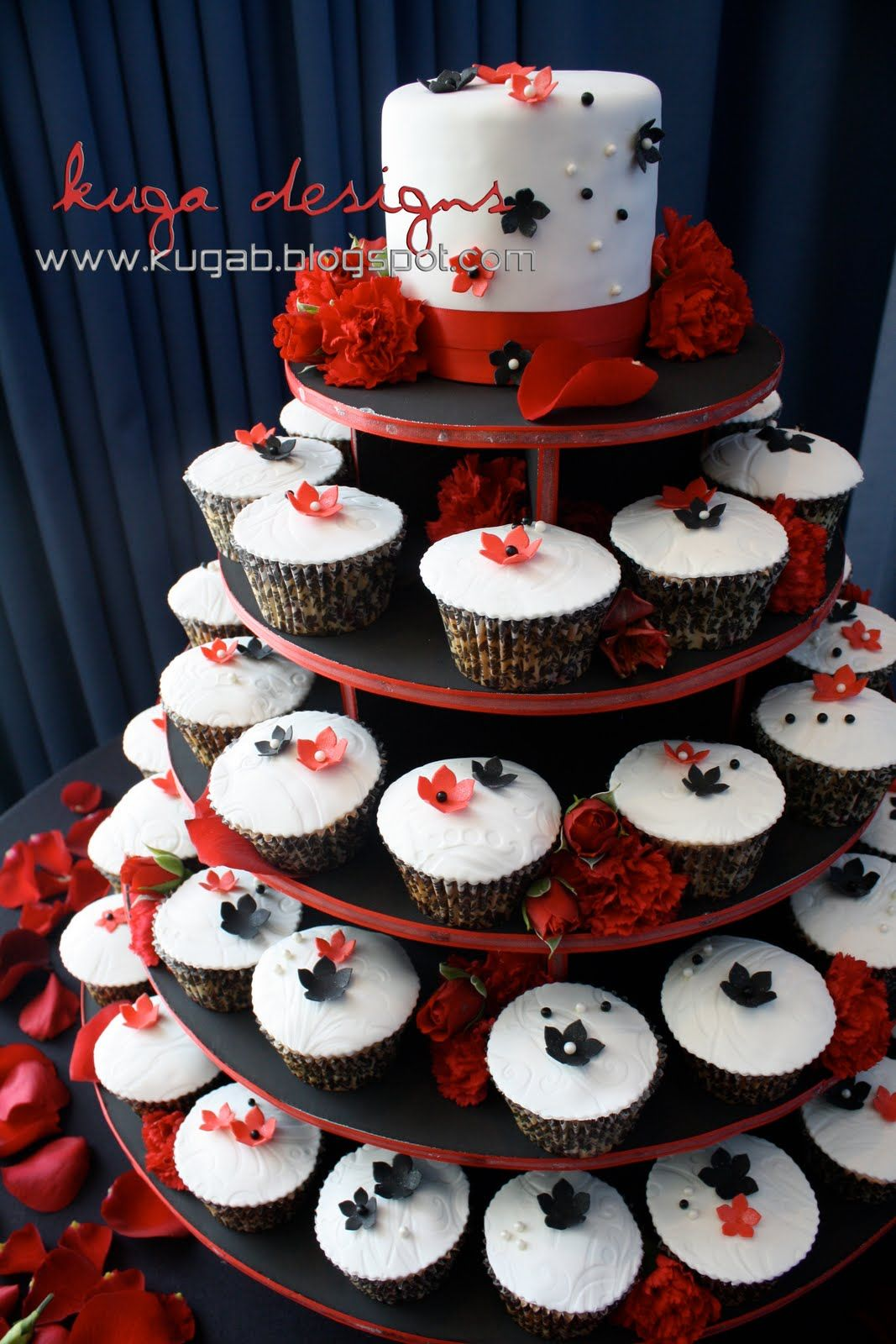 Red White And Black Wedding Reception Decorations Google Search