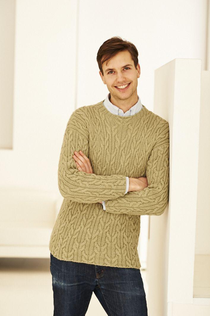 Knitting Pattern Mans Sweater Brei En Hekel Pinterest Shops