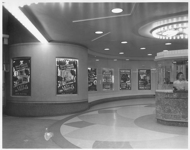 South Gate, California Vogue Theater Loved the box offices and they even had ushers to seat you