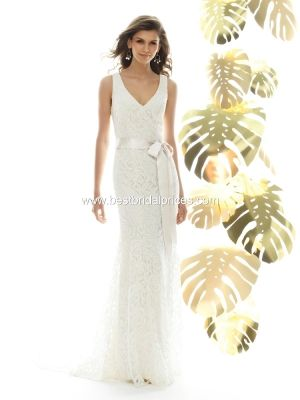 Sandals Wedding Dresses by Dessy - Style 1018 [1018] - $470.00 ...