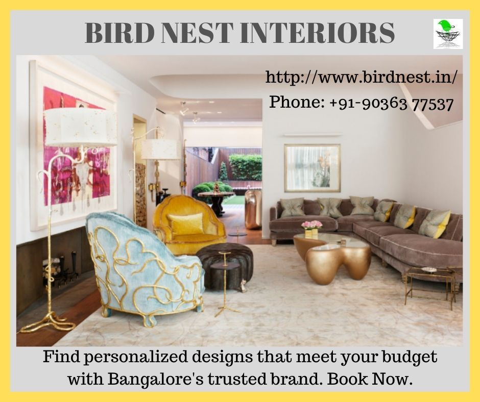 Get Beautiful Interiors In 4 Steps Hassle Free Design To