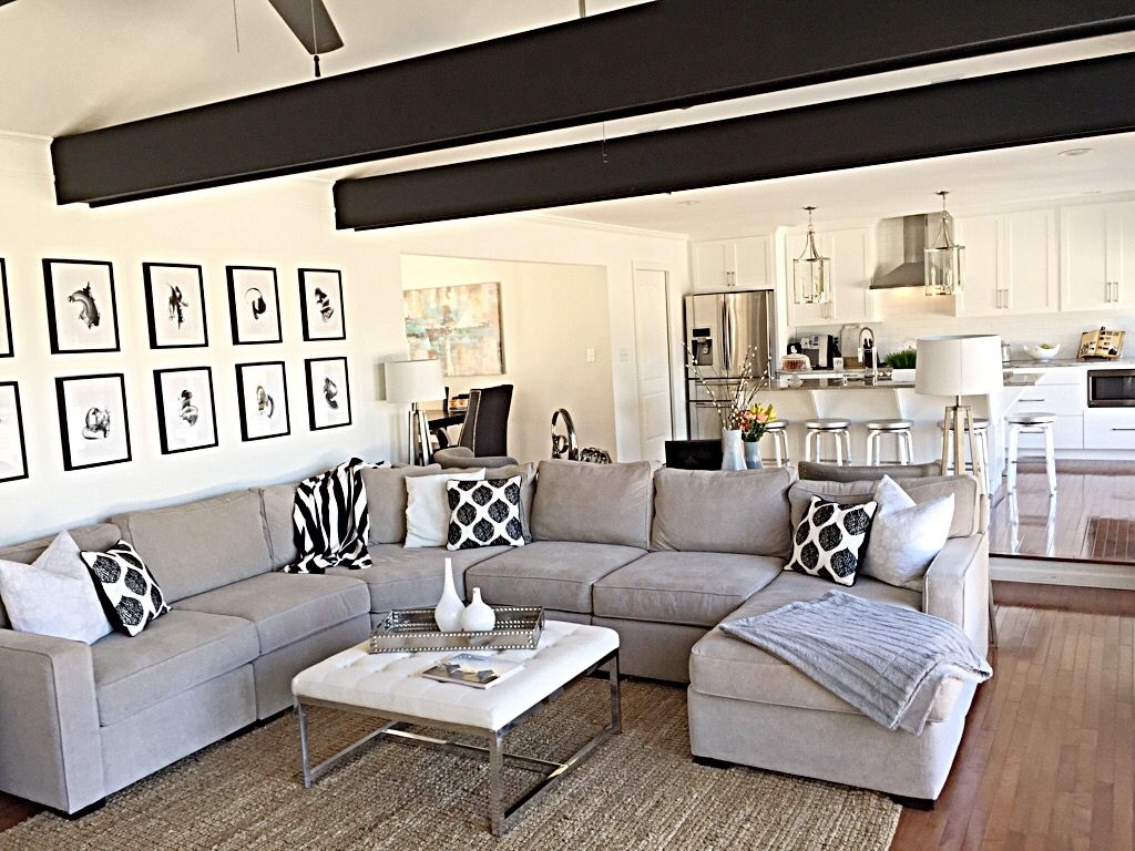 Diy Ranch Renovation Living Room After Open Concept My Favorite