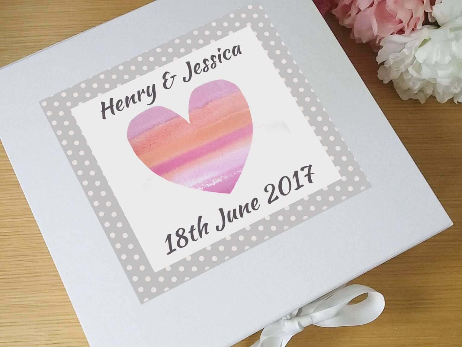 Wedding Keepsake Box Wedding Gift Personalised Wedding Gift