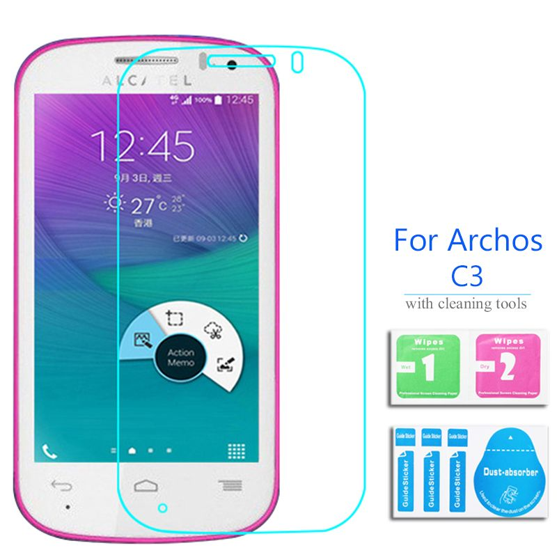 >> Click to Buy << For Alcatel Onetouch Pop C3 Tempered glass Screen Protector 2.5 9h Safety Protecetive Film on C 3 4033D pelicula de vidro #Affiliate