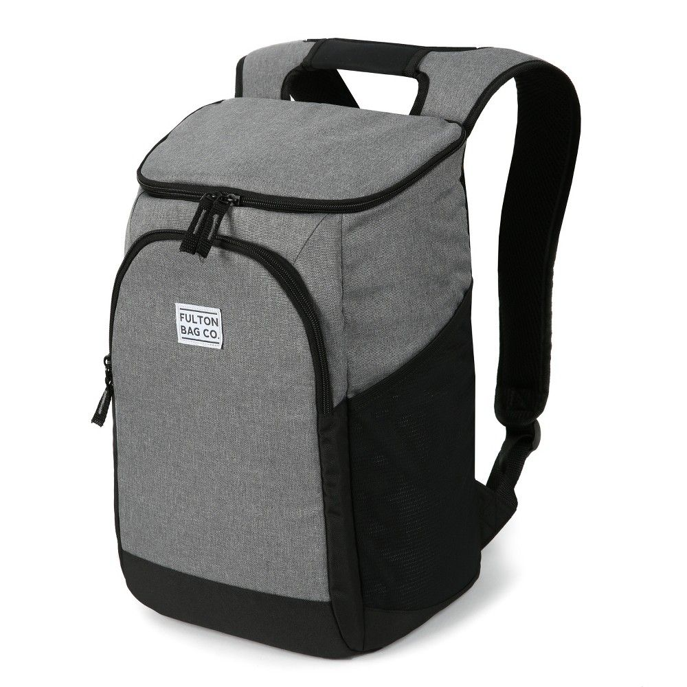 Fulton Bag Co 32qt Backpack Cooler Griffin Gray Cool Backpacks Fulton Insulated Backpack