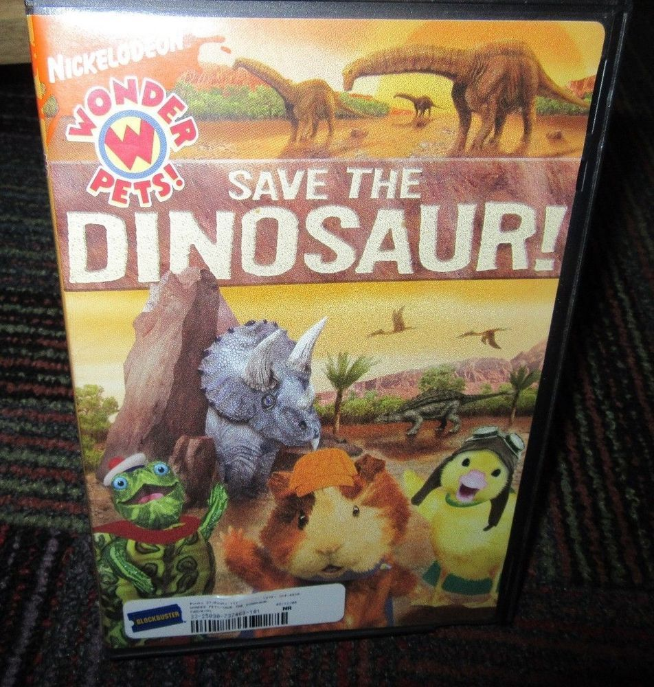 Wonder Pets Save The Dinosaur Dvd Nickelodeon 4 Great Episodes Guc Wonder Pets Dinosaur Dvd Pets