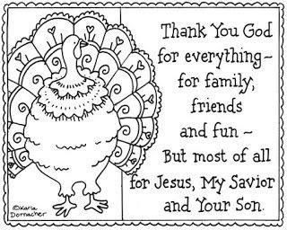 48 Free Printable Coloring Pages Thanksgiving Christian  Images