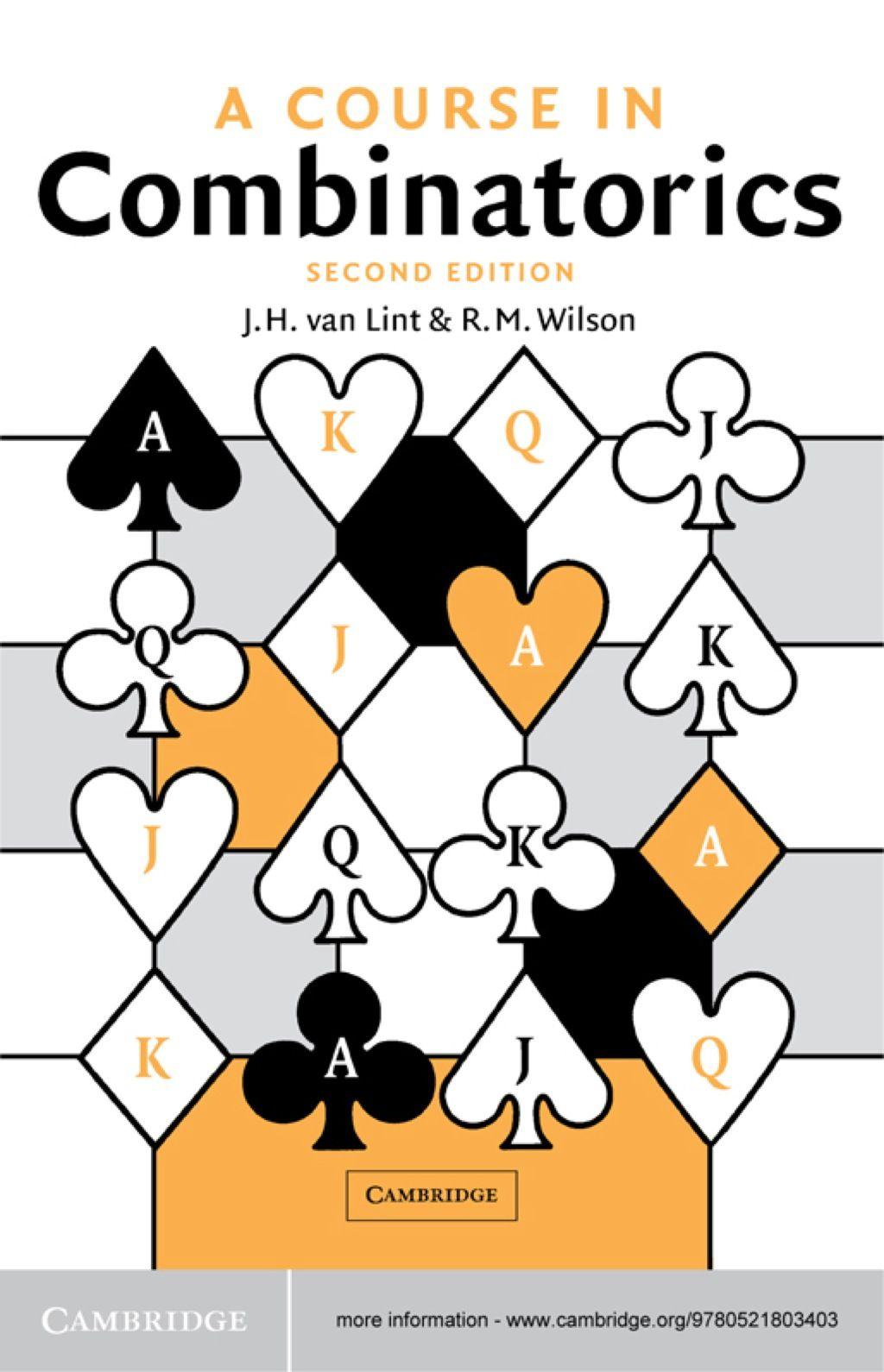 A Course In Combinatorics Ebook