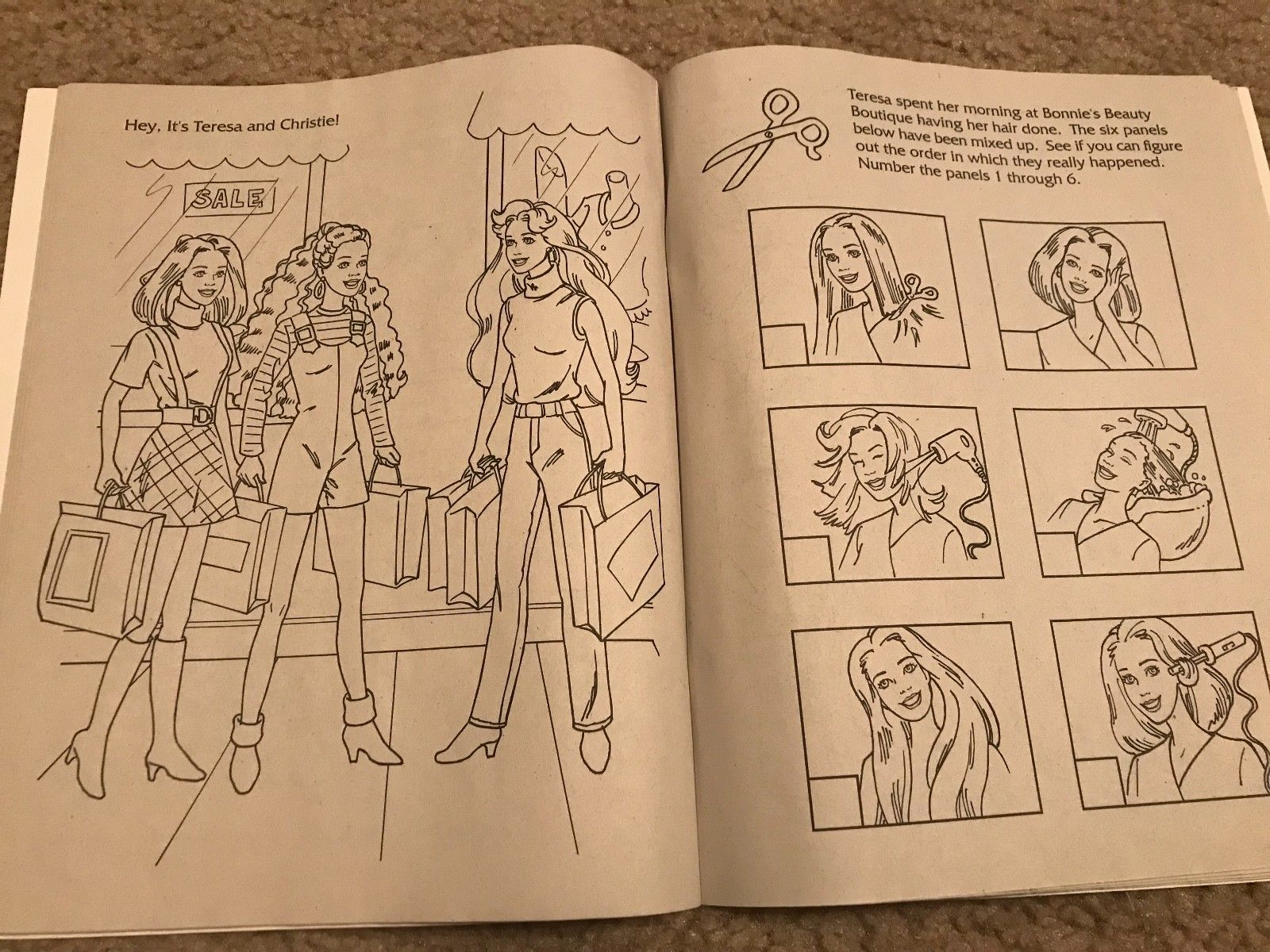 barbie coloring books for sale # 55