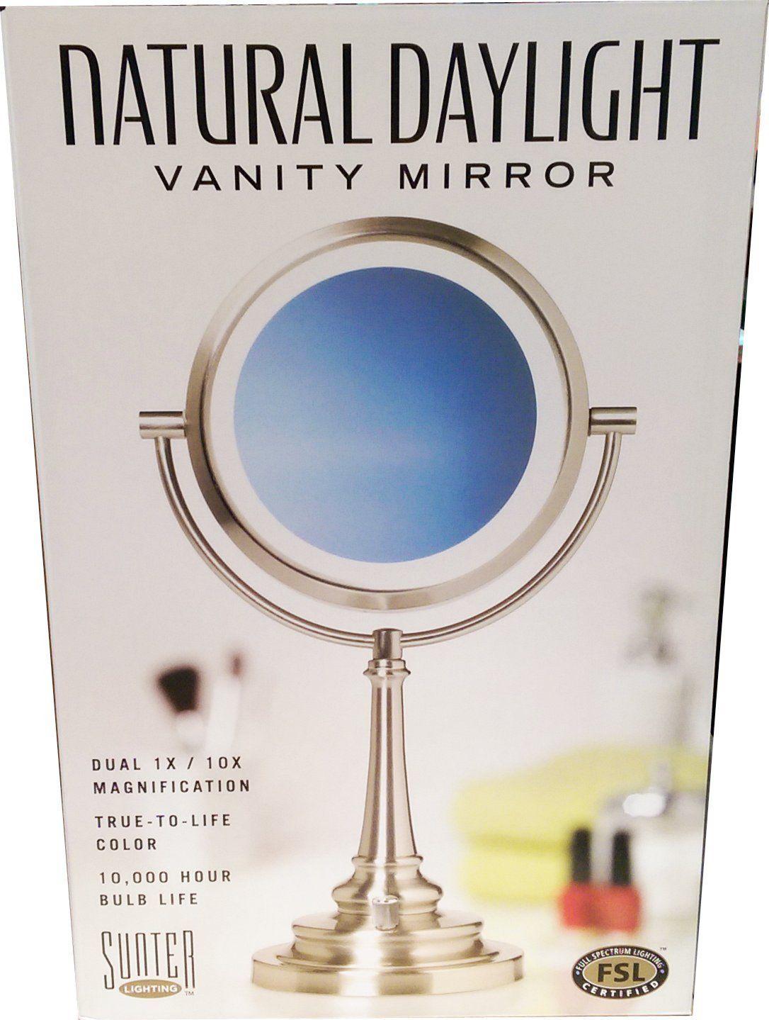 Sunter Natural Daylight Vanity Makeup Mirror New 2015 Model Makeup Mirror Makeup Vanity Mirror