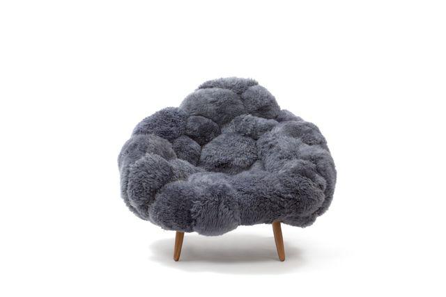 Humberto and fernando campana 39 bolotas armchair grey 39 2015 friedman benda furniture i - Ausgefallene wohnzimmermobel ...