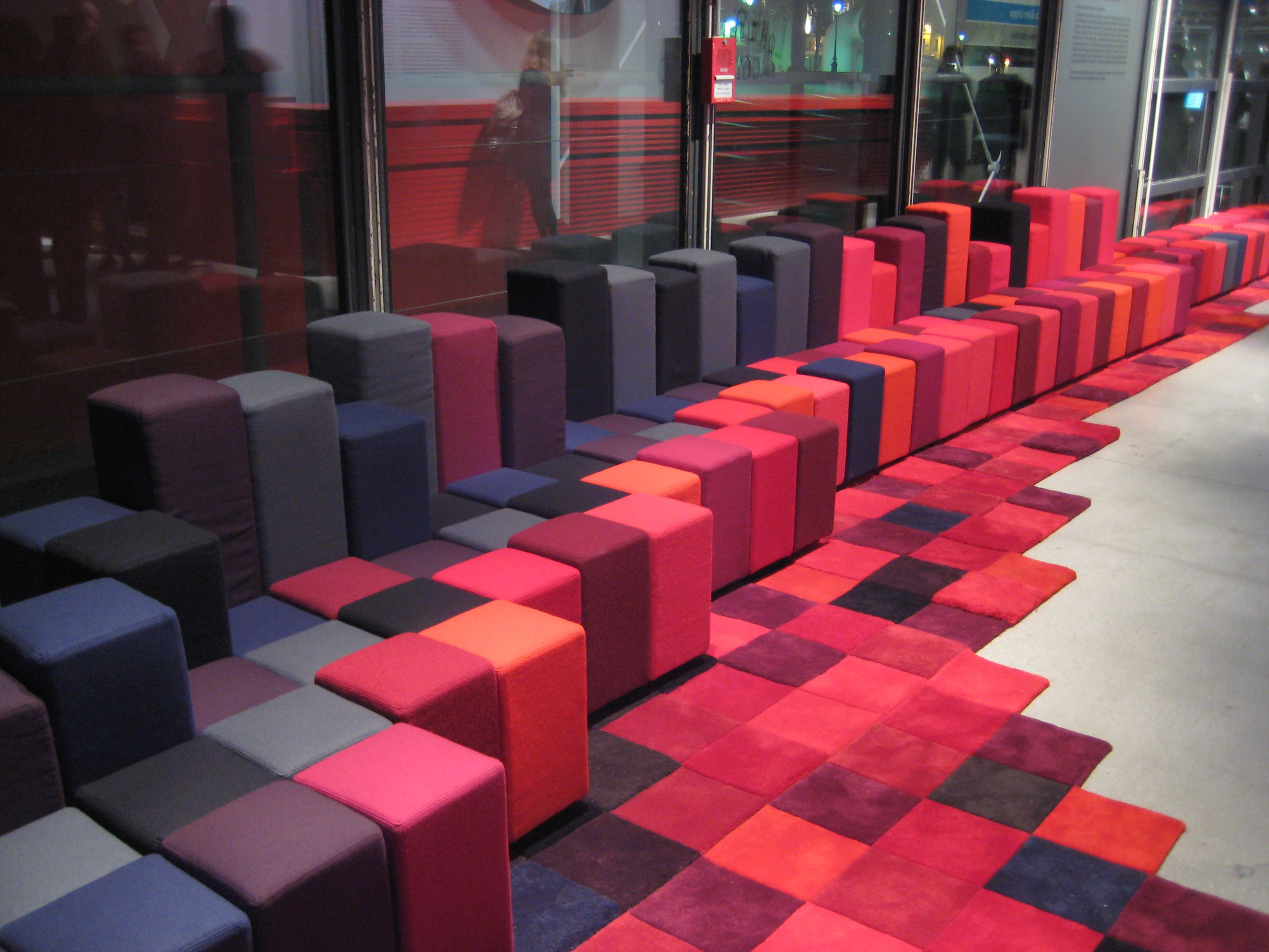 Attractive Do Lo Rez Rug Designed By Ron Arad For Nanimarquina. George Pompidou Center Nice Design