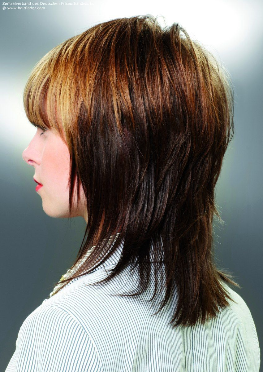 Image result for medium shag haircut back view hair pinterest