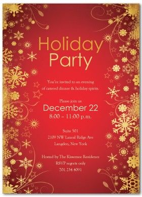 Christmas Party Invitation Templates Free  Stuff To Buy