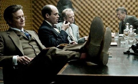 """Colin Firth in """"Tinker, Tailor, Soldier, Spy"""""""