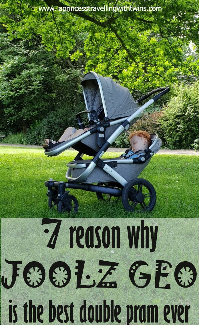 I used Joolz Geo pram for more than 3 years and I strongly