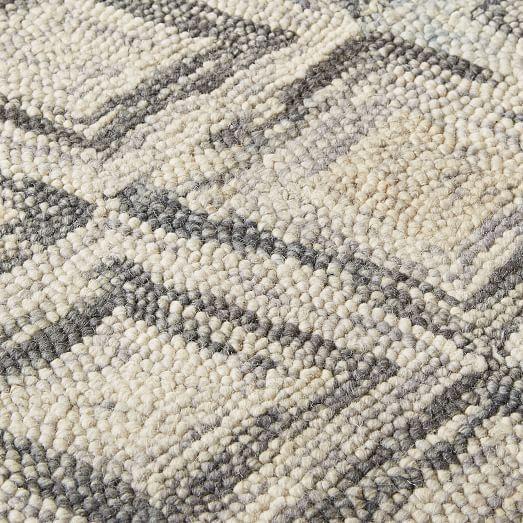 Prism Wool Rug Slate Rugs Wool Rugs Living Room Wool Rug