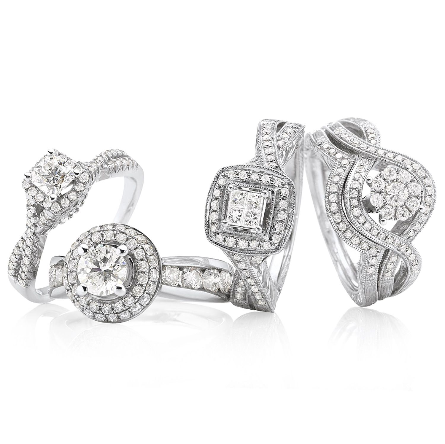 jcpenny wedding rings JCPenney put a ring on it modern bride true love and cherished hearts diamond ring collections