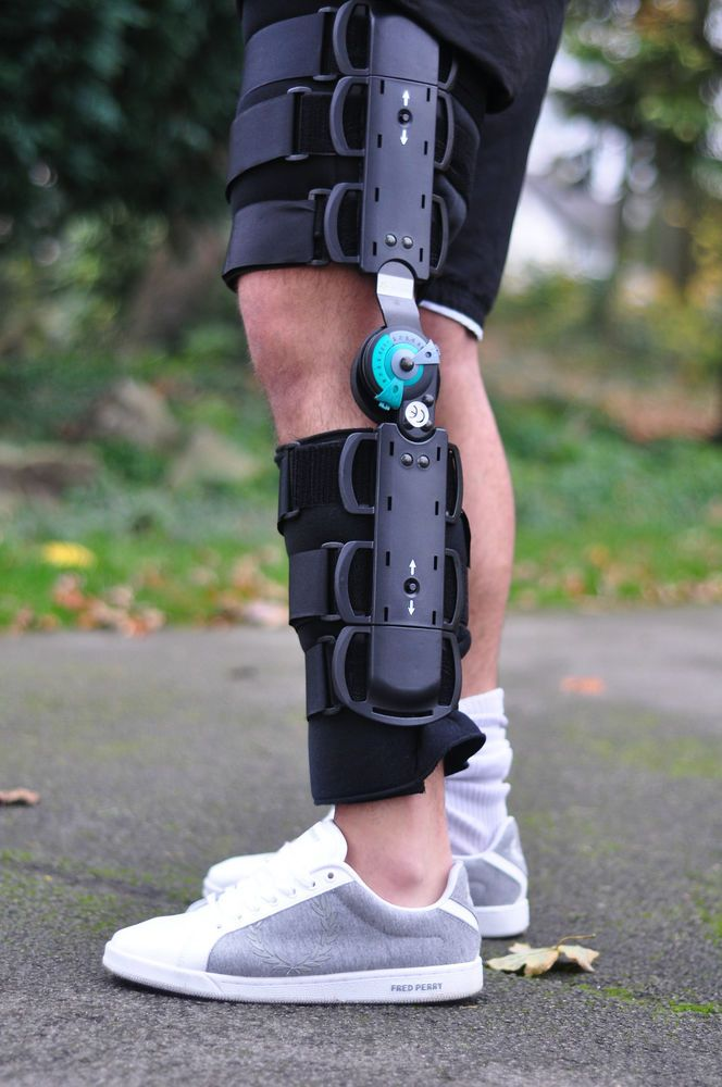 91167c6509a Telescopic Knee Brace Support Sprains Fractures Price £34.99