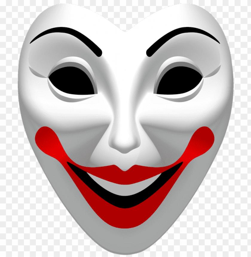 Download Joker Mask Png Clipart Png Photo Png Free Png Images Joker Mask Carnival Masks Guy Fawkes Mask