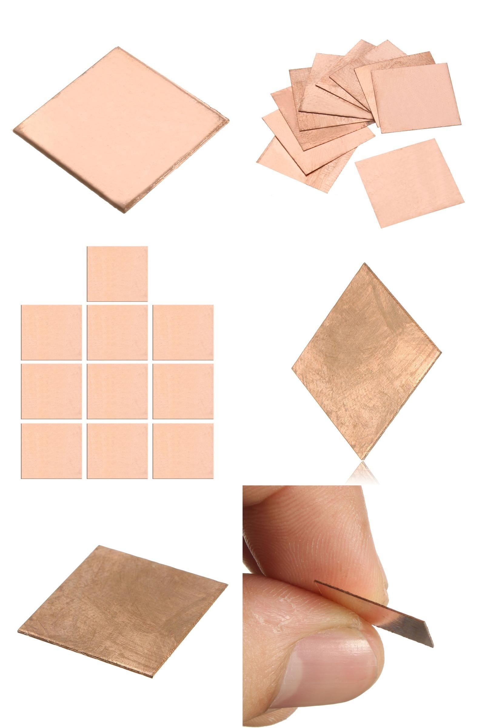 Visit To Buy 10pcs Laptop Copper Sheet Plate Strip Shim 0 1mm 0 3mm 0 5mm 0 8mm Thermal Pad Heatsink Sheet For Gpu Cpu Vga Chip R Copper Sheets Heatsink Vga
