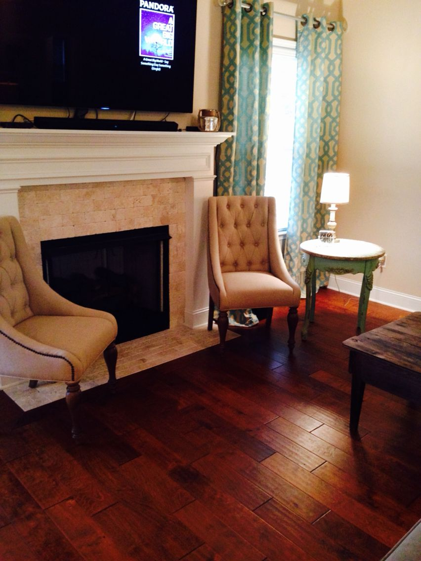 Charming Havertyu0027s Tufted Tan Dining Chairs And Hobby Lobby Sea Foam Green Side  Table. Kirklands Curtains
