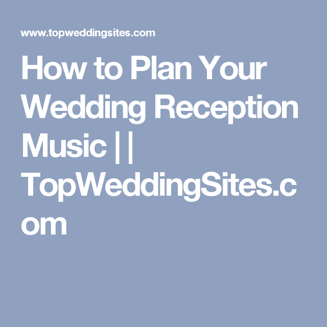 Garter Toss Songs: How To Plan Your Wedding Reception Music
