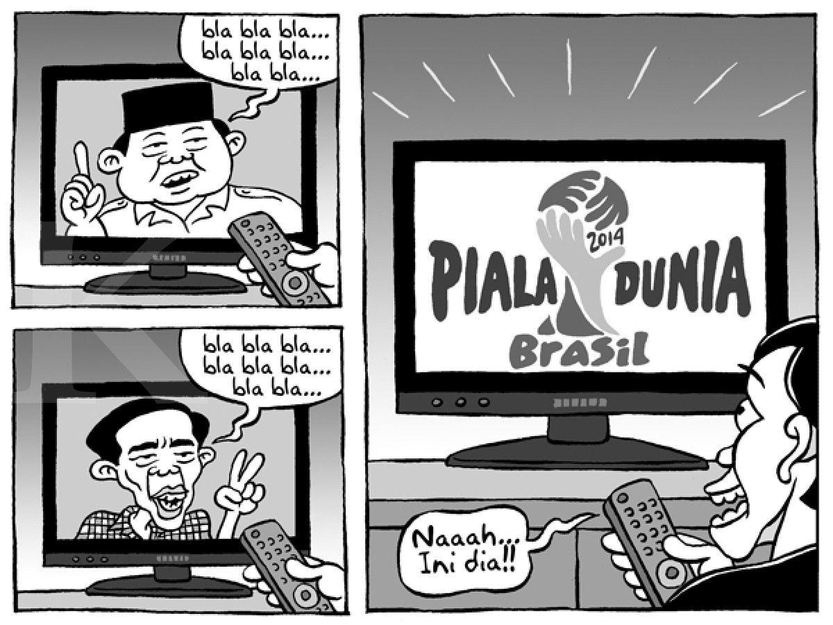 Kartun Benny Kontan 12 Juni 2014 Lupakan Dulu Pemilu Piala