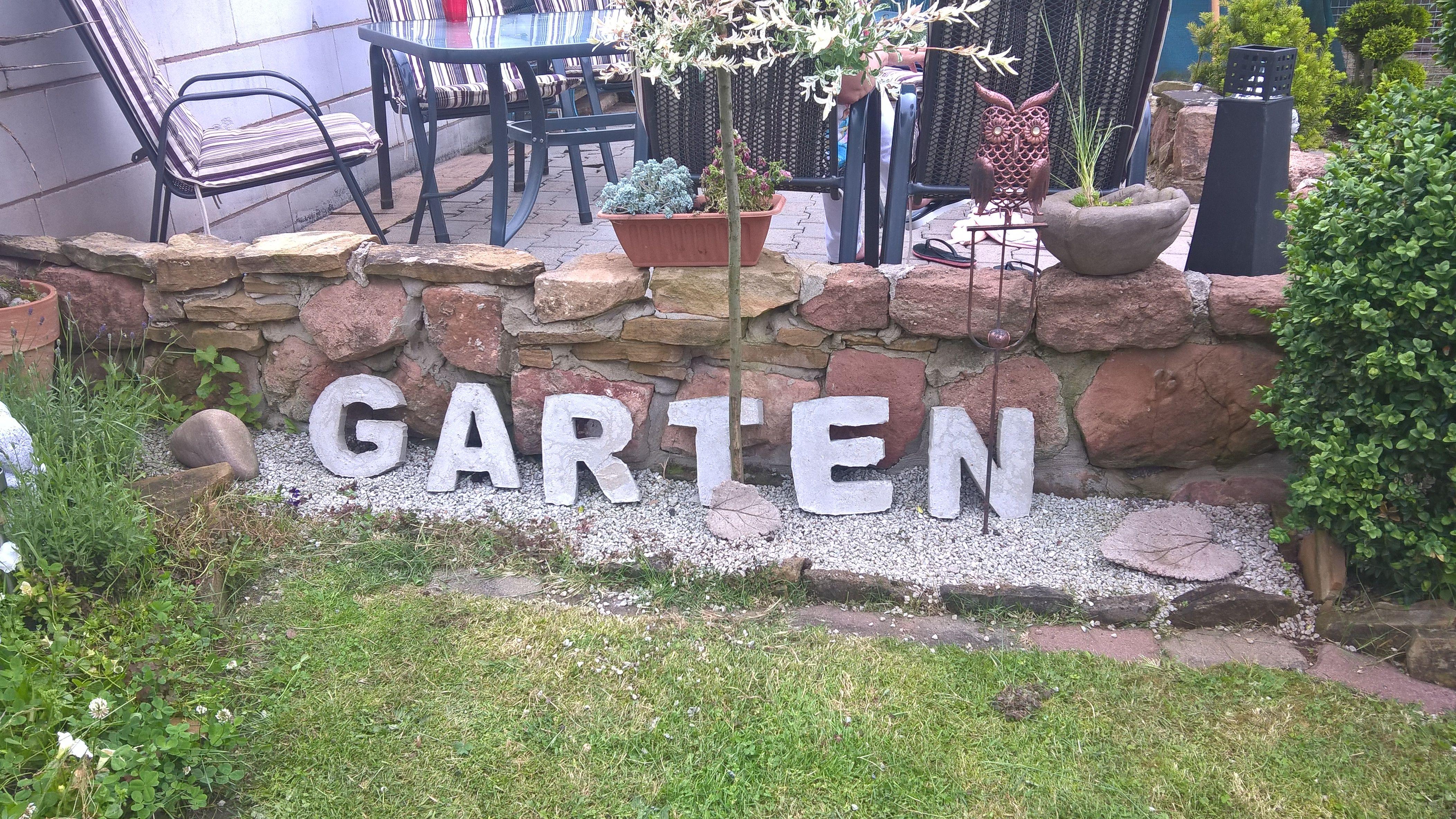 Buchstaben aus Beton | Beton | Pinterest | Buchstaben, Anleitungen ...