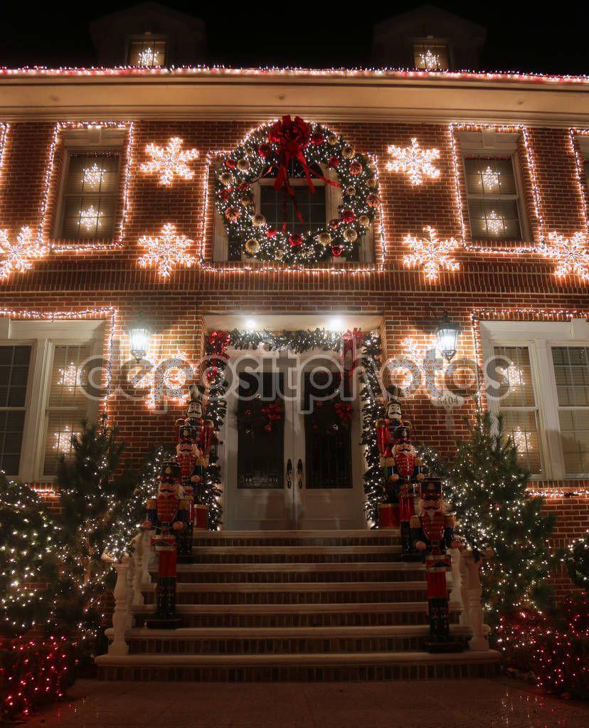 Brooklyn New York November 2017 Christmas House Decoration Lights Display X201 Aff Christmas November Brooklyn York Ad I 2020