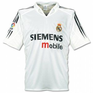 2004 Cheap Retro Jersey Real Madrid Home Replica Football Shirt  AFC140  4181e4eaafa57