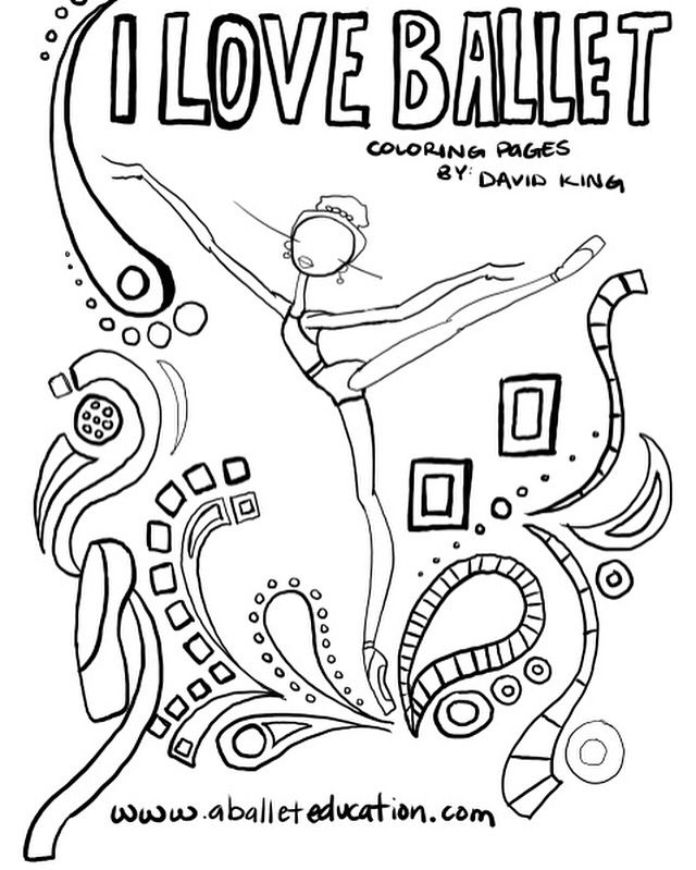 Ballet Coloring Page With Images Ballet Kids Ballet Color