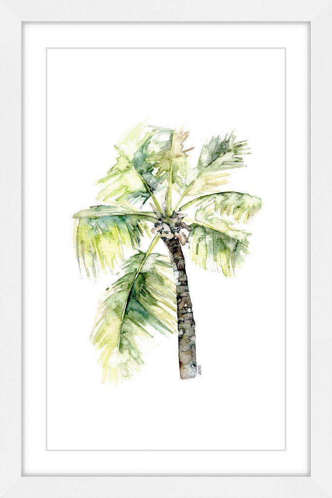 Palm Tree 2 | Aquarell