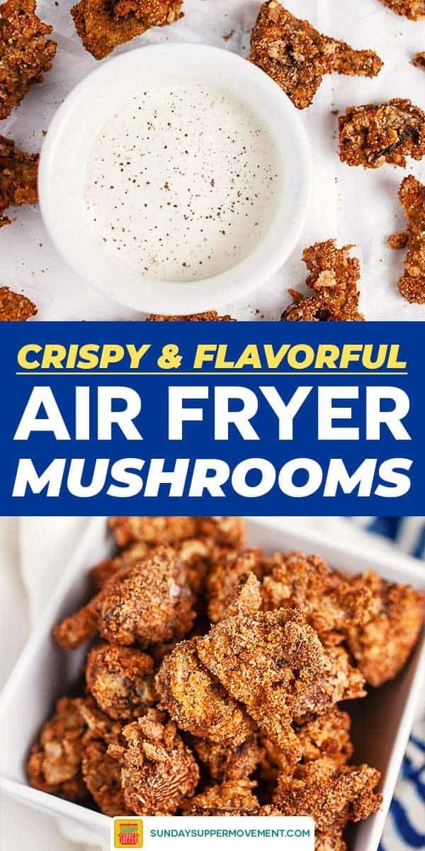 Air Fryer Mushrooms Recipe in 2020 Best vegetable