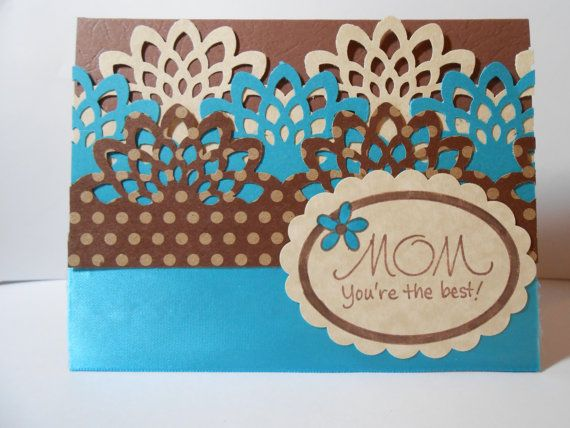 Mother's Day Greeting Card by susieqpapercreations on Etsy