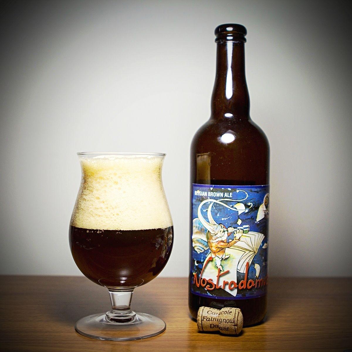 Brasserie La Caracole - La Caracole Nostradamus(Strong ale) various 9,0%-10,0% 75cl pullo 1/2 Akin kanssa 18.3.2006 Kaisla / 1/2 Teron kanssa 8.4.2011 HBF