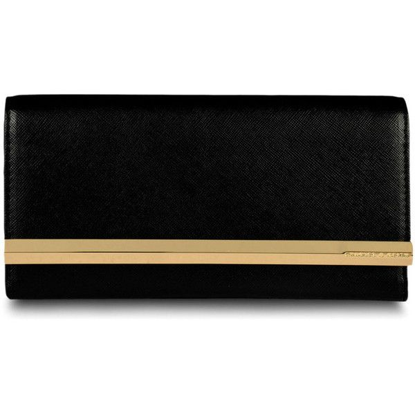 Turn Lock Wallet - Black - Wallet - Bags | CHARLES & KEITH ...