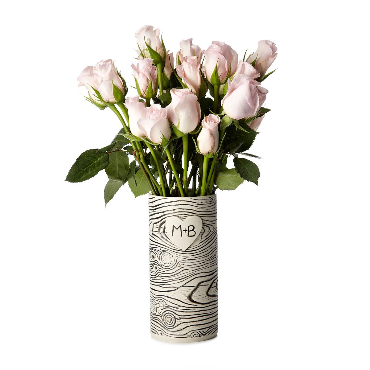 dull colors paint design love traditional wedding wall vase bell carved shaped top round birch personalized cream wood pattern table with interior