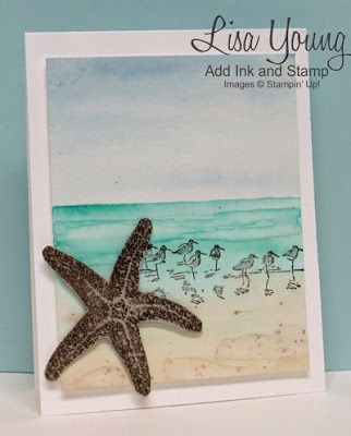 Beach Card | Add Ink and Stamp | Bloglovin'