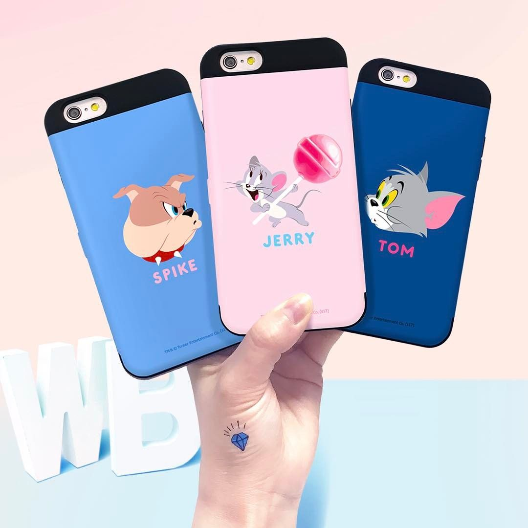 Tom and Jerry on your phone case!! Share these lovely phone cases to your friends