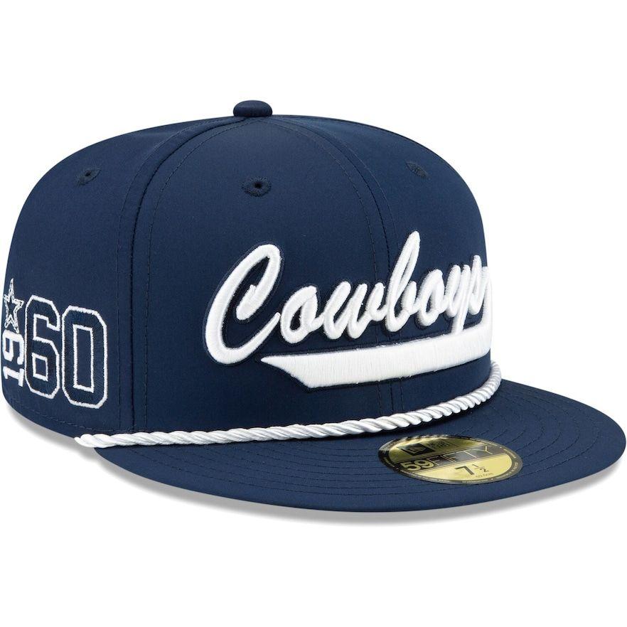 Nike Dallas Cowboys Navy Sideline