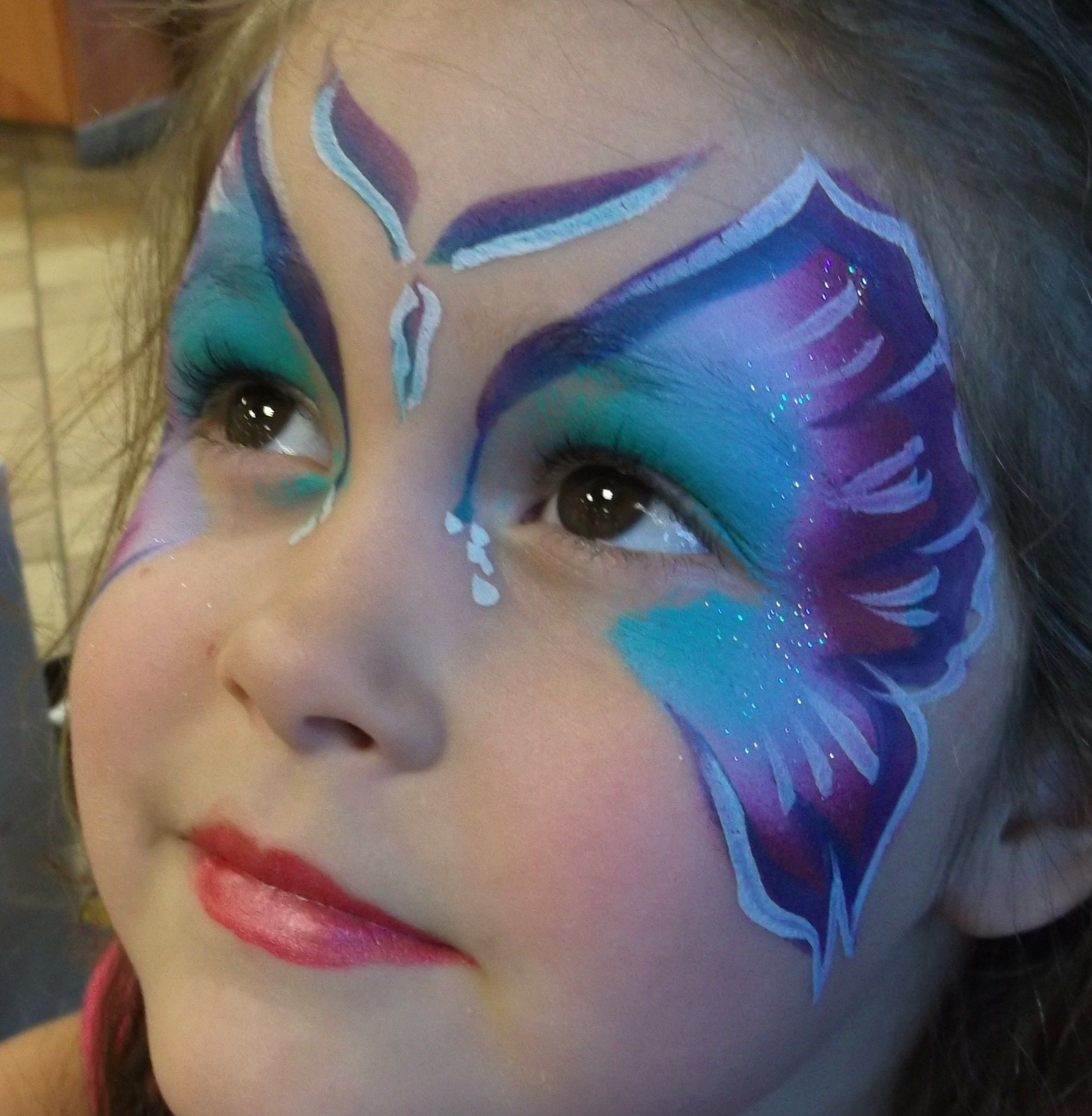 Uncategorized Face Painting Butterfly wix com butterfly face paint and facepainting jacksonvillefl amazingfacepaintingbylinda childrensbirthdayparties kidsparties