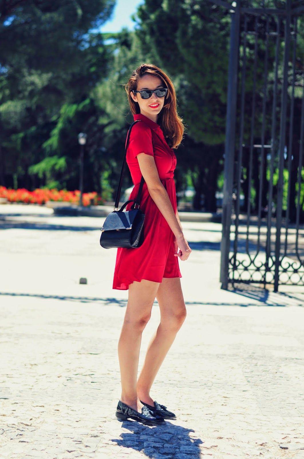 Vestido Rojo By Corazon Maniqui