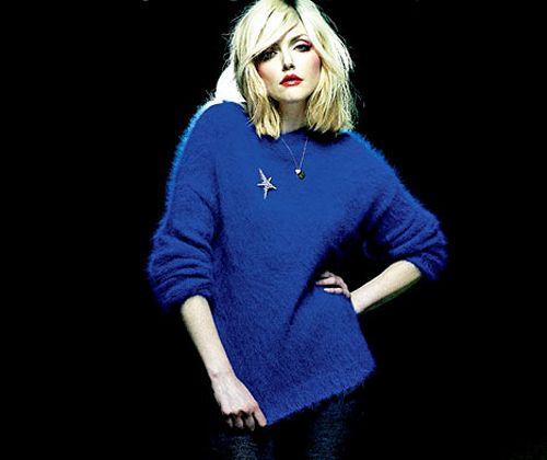 blue blondie