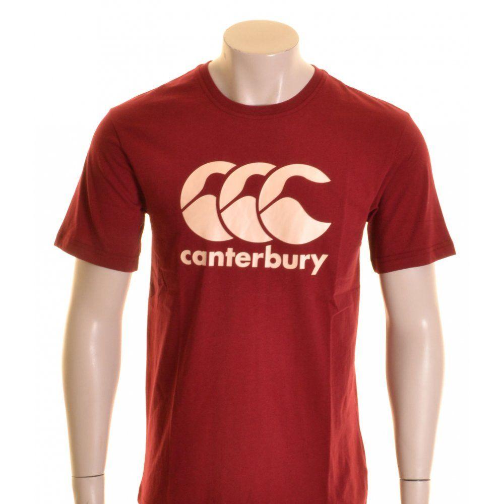 Canterbury CCC Logo T-Shirt Biking Red and Cream - £16.00 at ...